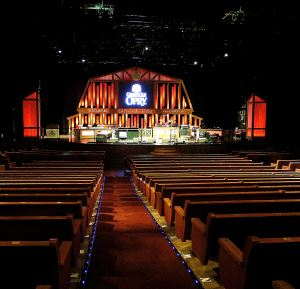 The new home for the Grand Ole Opry seats 4,400. Photo by Pat Bean