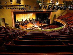 The Ryman Auditorium seats 2,362 people. -- Photo by Pat Bean