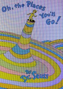 """""""Oh the places you'll go ..."""" frequently hummed in my head while I was traveling this country in Gypsy Lee. -- Dr. Seuss illustration"""