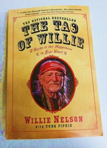The Familiar Willie on the cove of his book written with Turk Pipkin.