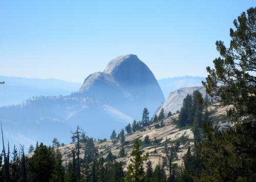 Half Dome from Tioga Pass