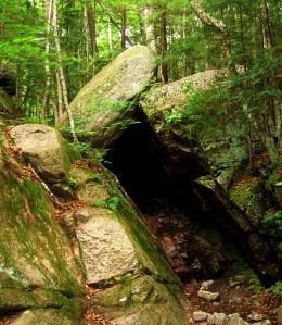 And the woods and rocks of the landscape are integral to the story. -- Photo by Pat Bean