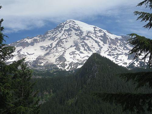 Purple Mountain Majesty: Mount Ranier