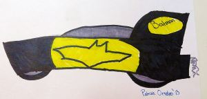 My grandson Patrick's Batmobile.