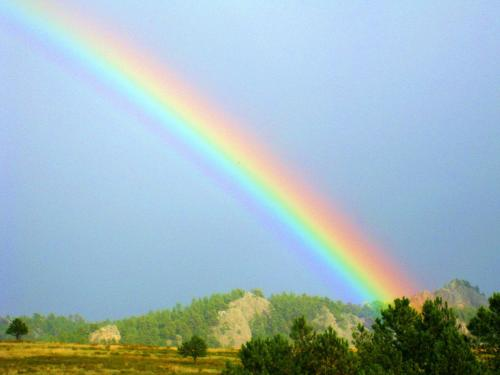 Life is full of rainbows, and life is full of storms. The first without the second wouldn't be as sweet. -- Photo by Pat Bean