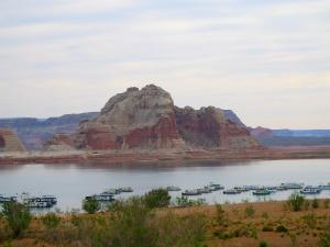 Wahweap Marina at Lake Powell. -- Photo by Pat Bean