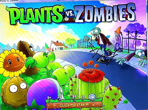 Anybody else out there play Plants vs. Zombies? I played it a lot yesterday, and probably will again in a few months.