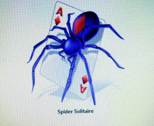 I also played many games of Spider Solitaire and Hearts, and a couple of games of Mahjong.