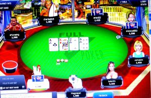 I also participated in a couple of play money poker tournaments. My avatar is the cat.