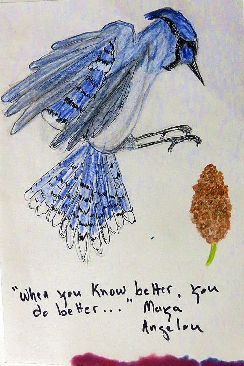 Daily doodling. -- without typos.  -- Illustration by Pat Bean