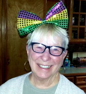 I spent most of my birthdays living far from kids, and so didn't have to endure them making me look silly. This birthday, however, I'm celebrating with several children and grandchildren, and actually loving it that they do so enjoy making me look silly. -- Photo by D.C. and Cindi Bean.