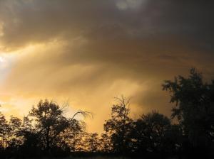 A Southern Idaho sunset.