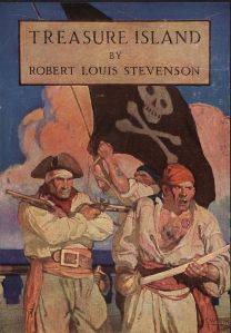 If I remember right, Treasure Island was the first book I read from my grandfather's book cabinet.