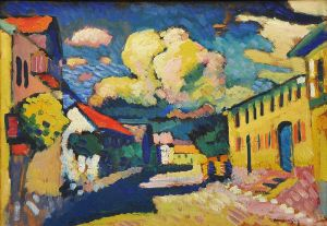 A painting my Wassily Kandinsky, an artist whose work I love.