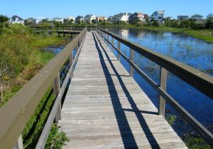 Or how about this boardwalk trail outside of Galveston. It, too, would make for a good idea walk. -- Photo by Pat Bean