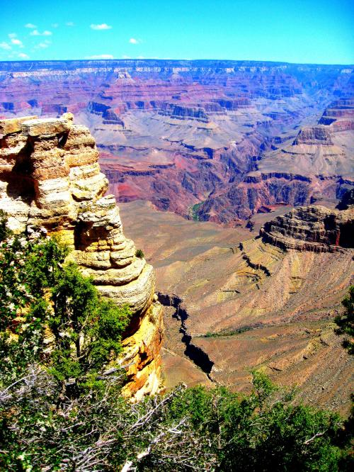 Some of my favorite parts of Wild America was reading James Fisher's comments about America's many wonders, including his awe at his first sight of the Grand Canyon. Actually, I'm awed every time I stand on its rim. -- Photo by Pat Bean