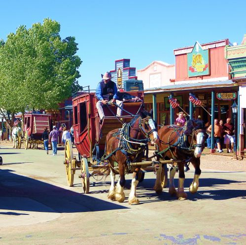 Downtown Tombstone -- Photo by Pat Bean