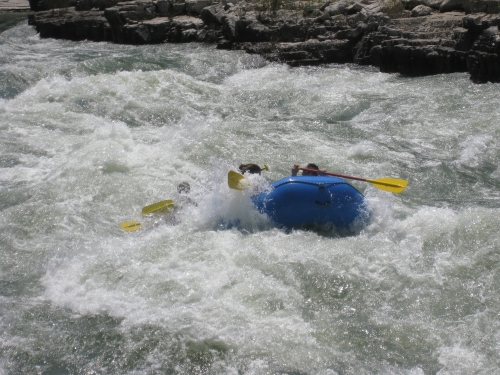 Shortly after the daily crisis in my life went away, I took up white-water rafting. I have to admit I loved the challenge of conquering the rapids.  I now wonder if this was a way of creating an artificial crisis?