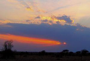 The sundowner sunset. -- Photo by Pat Bean