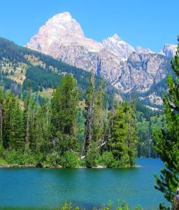 Taggart Lake in Teton National Park, which wasn't on the magazine's list.  -- Photo by Pat Bean