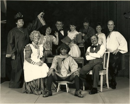 This photo was taken over 30 years ago, when I played Mrs. Zubrisky, as did actress and author Mary Louise Wilson. That's a very young looking me sitting on the left. What a wonderful memory