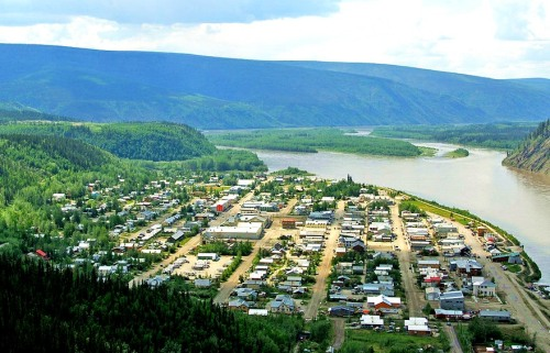 Dawson City -- Wikimedia Photo by Michael Edwards.