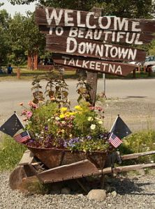 Talkeetna welcome sigh