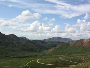 The one and only  road that cuts through Denali National Park -- and I was on it from beginning to end. -- Wikimedia photo