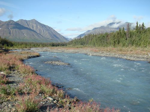 Kluane National Park in the Yukon. -- Wikimedia photo